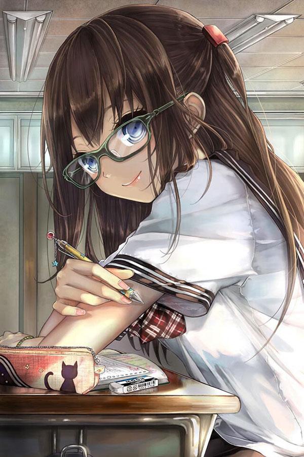 【二次画像】 メガネ美少女画像ください vol.1 【116枚】