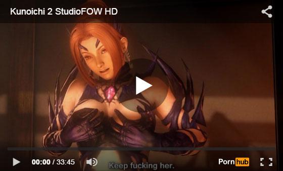 【動画あり】xvideosにあるエロ3DCG凄すぎひん!?
