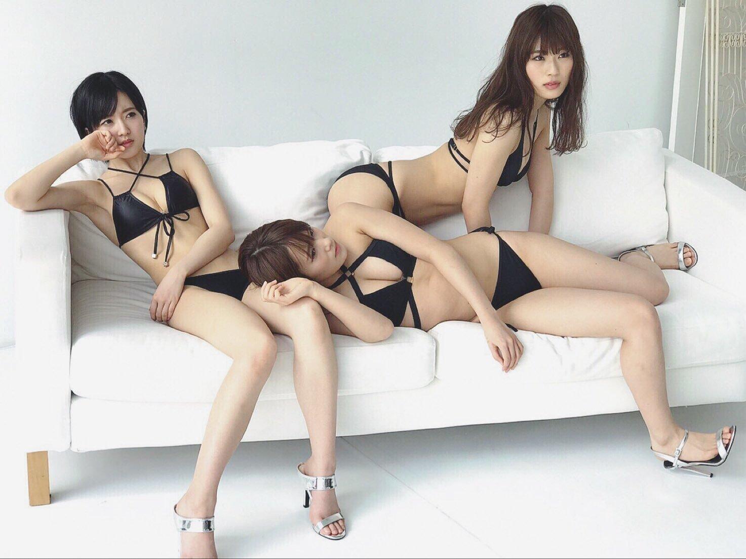 【画像あり】NMB48変態水着の継承者キタ━━━━(゚∀゚)━━━━!!