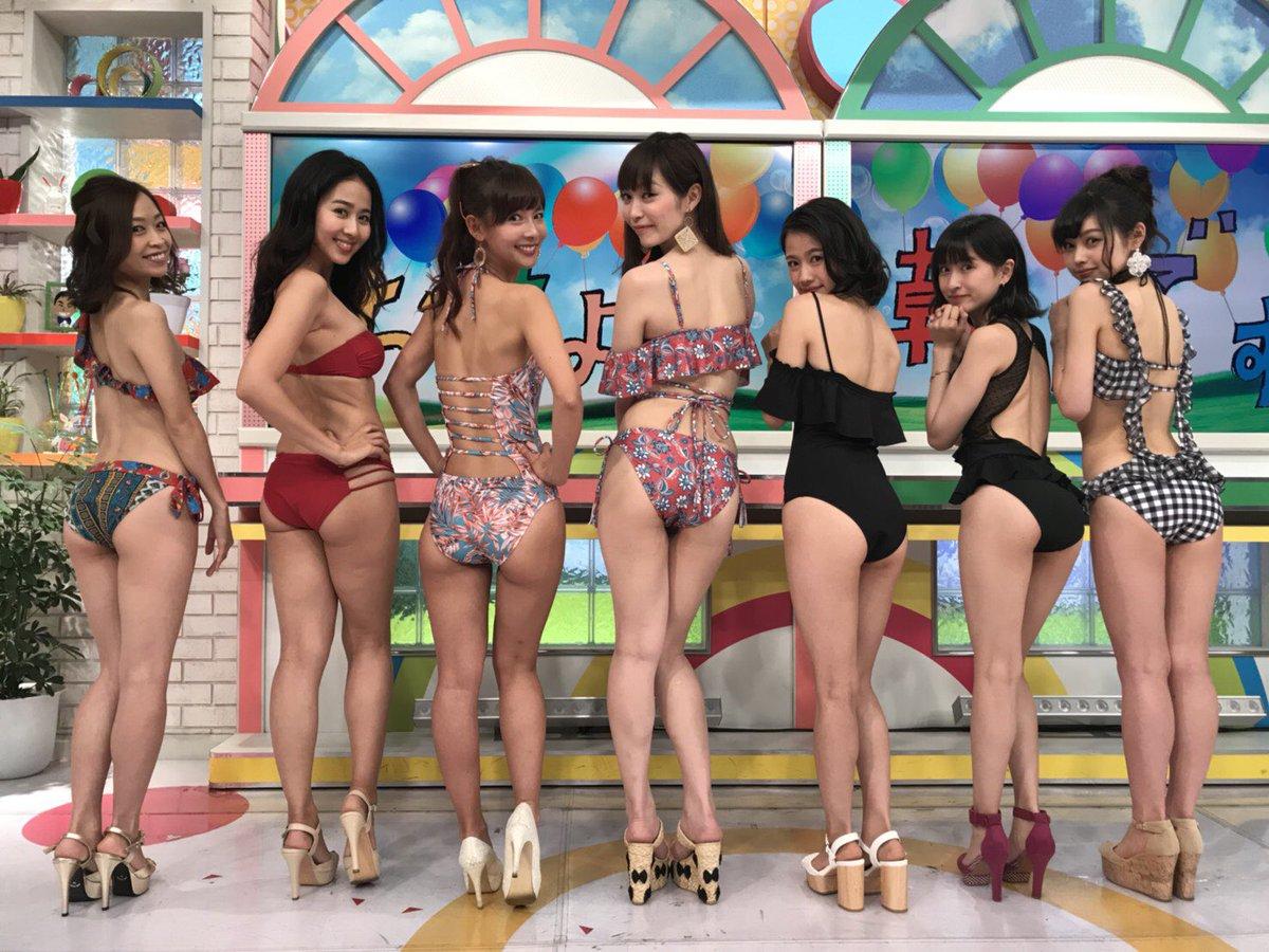 【三次画像】美女6人「どのお尻に挿れたいの?w」