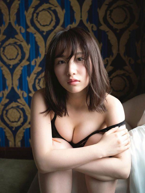 【画像あり】AKB48・高橋朱里、処女写真集発売決定!人生初のランジェリー撮影も