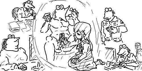 たまに現れる風刺画描いてる謎のなんj民mnwmnwmnwmne