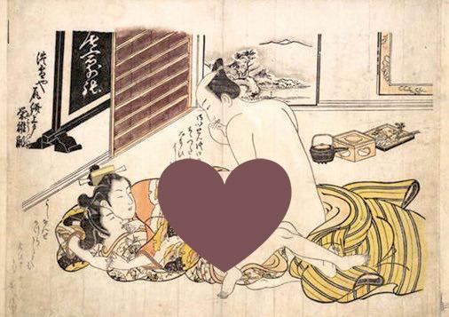 【エロ注意】江戸時代の春画 エロ過ぎて草