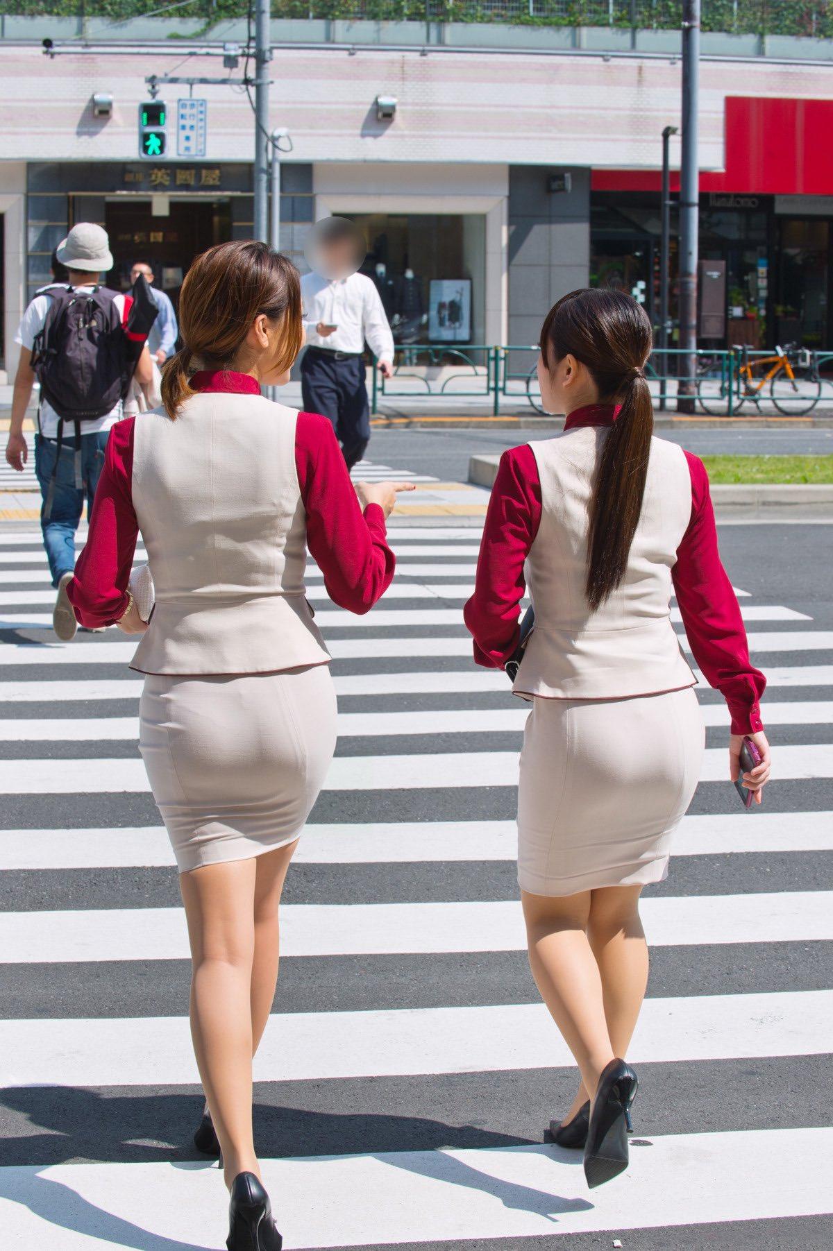 【画像】東京のOLさんってこんなにエッチなんか?
